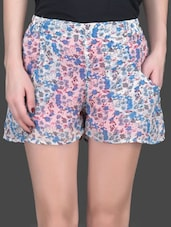 Floral Printed Multi Color Shorts - Trend Arrest