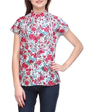 Short Sleeves Floral Print Shirt - Stilestreet