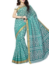multi cotton printed saree -  online shopping for Sarees