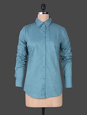 Solid Color Full Sleeve Shirt - House Of Tantrums