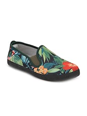 multi colored canvas printed shoes -  online shopping for Casual Shoes