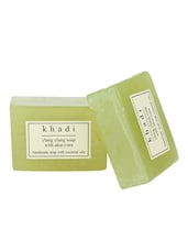 Khadi Ylang Ylang Soap With Aloe Vera - Pack Of 2, 250 Gms - By