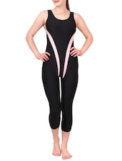 black nylon swimsuit -  online shopping for functional swimsuit