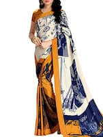 multi crepe saree -  online shopping for Sarees