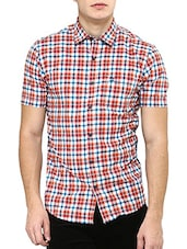 orange cotton casual shirt -  online shopping for casual shirts