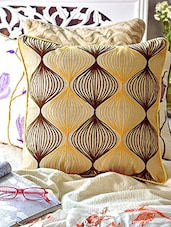 Multicolored Cotton Cushion Cover - By
