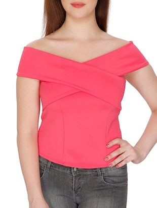 pink regular top