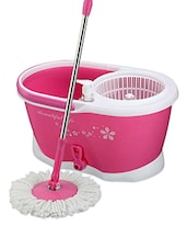 Pink plastic mopper set -  online shopping for cleaning
