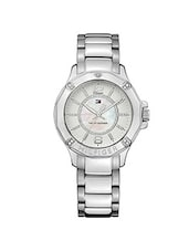 silver stainless steel analog wrist watch -  online shopping for Wrist watches