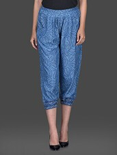 Paisley Printed Pants - Thegudlook
