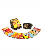 Multicoloured A To Z Daaru Coasters - By
