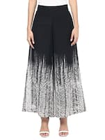 black georgette palazzos -  online shopping for Palazzos