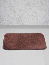 Brown Polyester Floor Mat - Story @ Home