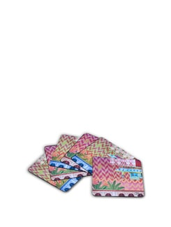 Mughal Twist Coasters (Set Of 6) - India Circus