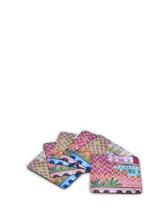 Mughal Twist Coasters (Set Of 6) - India Circus