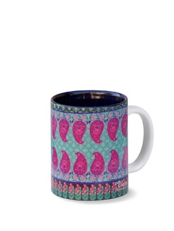 Swaying Paisley Coffee Mug - India Circus