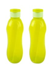 Flip Cap Water Bottle ( 1000 Ml - Set Of  2) - By