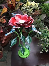 Metal Flower Stand Candle Holder - Gradina Dekor