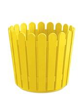 Solid Yellow Plastic Planter - Emsa Planters By HC
