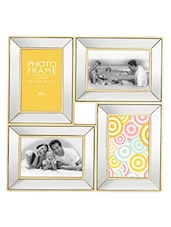 Elegant Mirror Photo Frame With 4 Slots - Innova