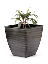 Square Base Iron Planter - Magnolia Kreations