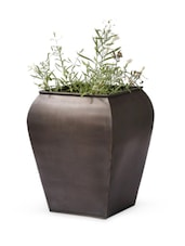 Copper Solid Frustum Shape Planter - Magnolia Kreations