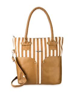 Cruise Holiday Bag In Brown - Lino Perros