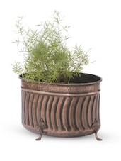 Gold Iron And Copper Planter - Papallona Designs - 1172553