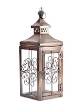 Iron & Glass Lantern - Magnificencia Home
