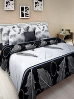 White cotton double bedsheet  -  online shopping for bed sheet sets