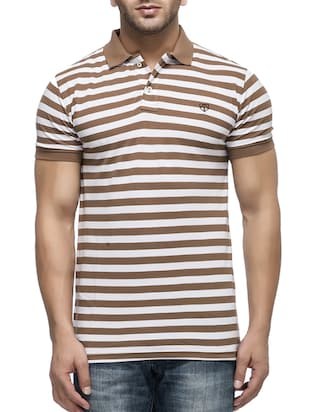 brown cotton tshirt