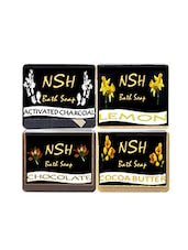 Multi Combo Pack Of 4 Bath Soaps - By