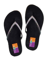 Black Faux Leather Slip On - Tycoon