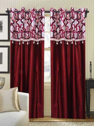 K Decor Set of 2 Beautiful Door Curtains
