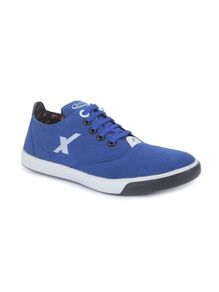 blue pvc lace up sneakers -  online shopping for Sneakers