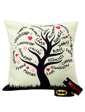 Cushion & Friendship Band Combo - Amigos By Thinking Of You