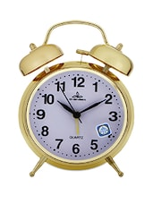 Gold Table Alarm Clock -  online shopping for Table Clocks