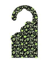 Green Printed MDF Door Hanger - Thin N Fat