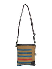 tan canvas sling bag -  online shopping for sling bags