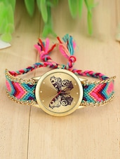 Friendship Bracelet  For Ladies Gold Watch -  online shopping for Wrist watches