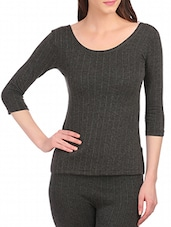 charcol cotton thermal top -  online shopping for Thermals & Inner Wear