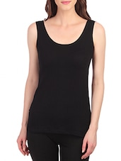 black cotton thermal top -  online shopping for Thermals & Inner Wear