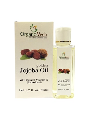OrganoVeda Jojoba Oil 50ml
