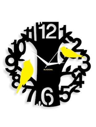 A Couple Bird on tree Wall clock
