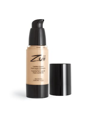 Zuii Organic Certified Liquid Foundation - Natural Bisque -  online shopping for foundation