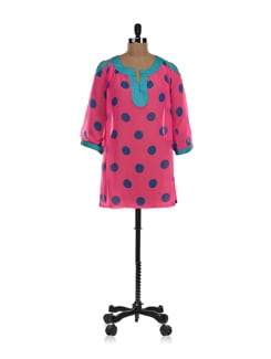 Pink Polka Dots Tunic - NUN
