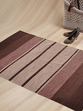 Multicolor Cotton Designer Carpet - By