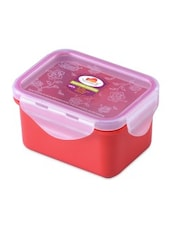 Red Melamine Rectangular Food Container - By
