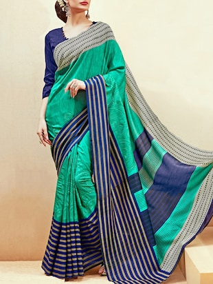 multi silk saree -  online shopping for Sarees