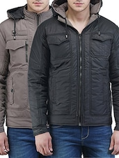 multi polyester casual jacket -  online shopping for Casual Jacket
